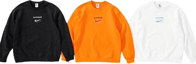 Supreme and Nike Crewneck