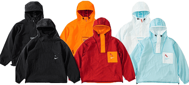 Supreme and Nike reversible anorak week 2