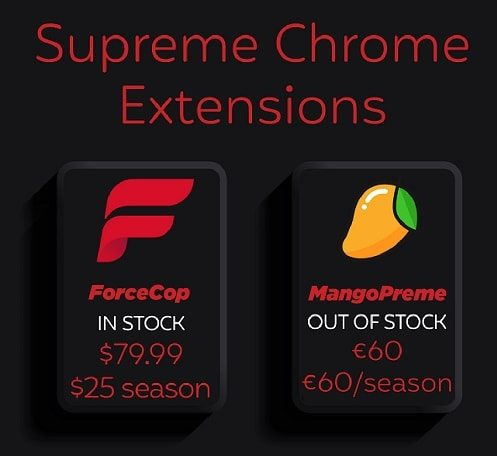 Best Supreme Bot - Chrome Extension