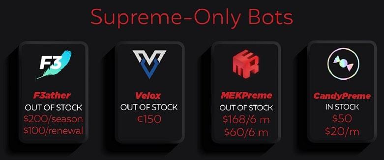 Best Supreme Bot - Supreme Only