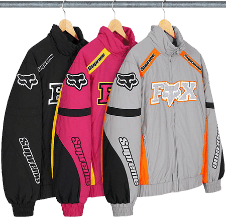 supreme fox racing jacket