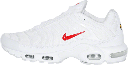supreme nike air max white