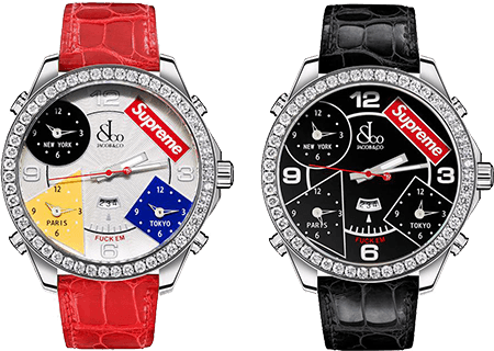 weekly releases supreme watch