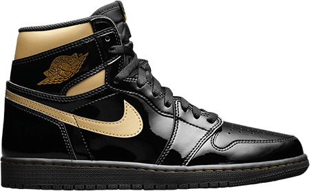 Jordan 1 Black Gold - yeezy 500 black
