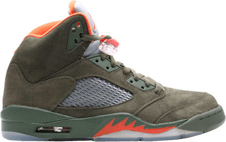 Jordan 5 What The - AJ5 Army Olive