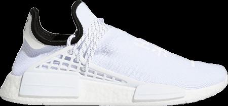 Pharrell Adidas NMD Hu White
