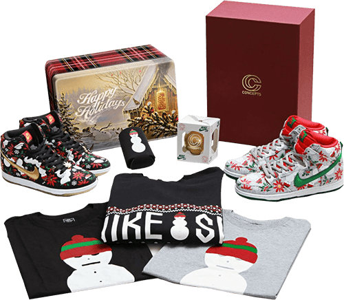nike concepts ugly christmas sweater