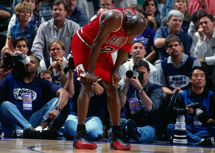 Jordan Flu Game 1997