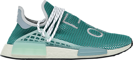 Pharrell NMD Hu Dash Green Worst 2020 sneakers