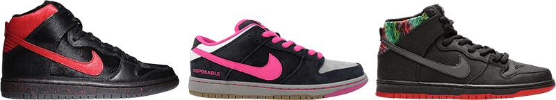Sean Cliver Dunks - Previous Releases