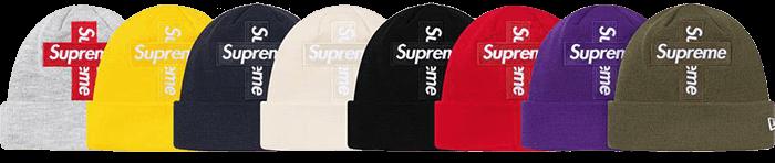 Supreme Cross Box Logo beanie