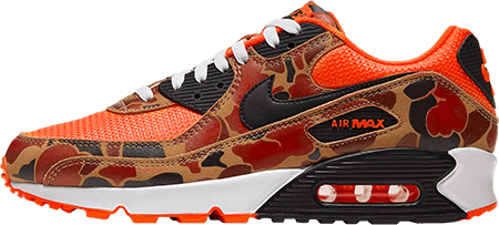 Worst Sneakers - Nike Air Max 90 'Orange Camo'