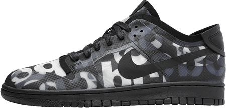 Worst sneakers 2020 - Nike Dunk Low CDG