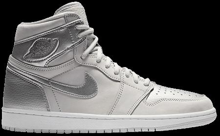 Jordan 1 Neutral Grey - CO JP Silver Jordan 1