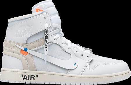 Jordan 1 Neutral Grey - Off White Jordan 1