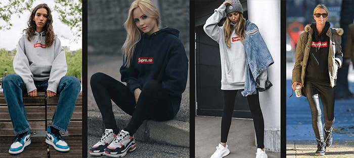 How to Style a Supreme Bogo Hoodie Women