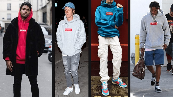How to Style a Supreme bogo Hoodie Men