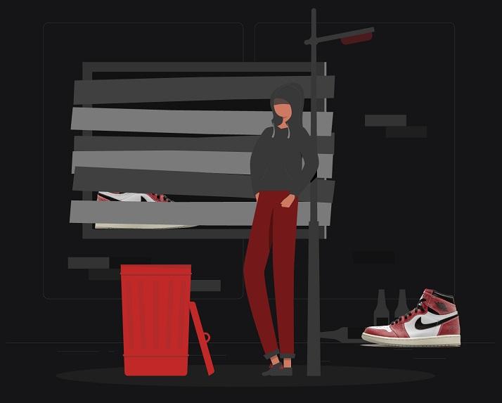 Backdoor Shoes - Jordan 1 Trophy Room