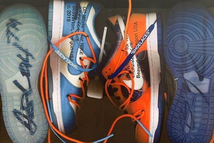 Nike Off White Sneakers Dunks New