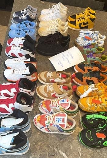 Stormi Sneaker Collection