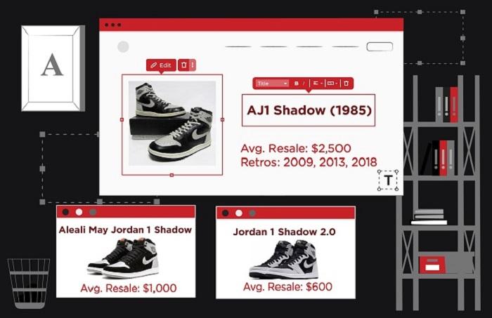 Jordan 1 colorways - Shadow