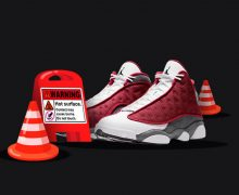 Jordan 13 red flint