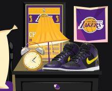 Nike Lakers Dunk 2021