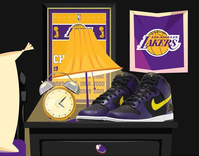 Nike Lakers Dunk 2021