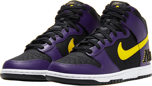 Nike Lakers Dunk Pair