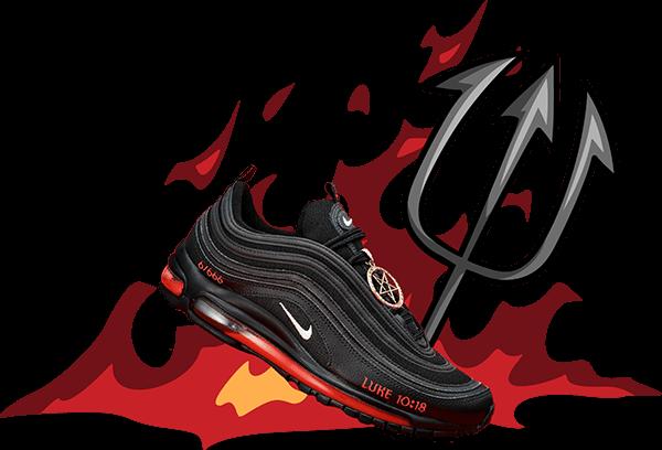Weird sneakers - satan shoes lil nas x