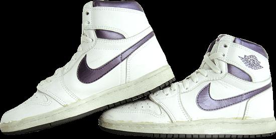 Jordan 1 court purple 1985