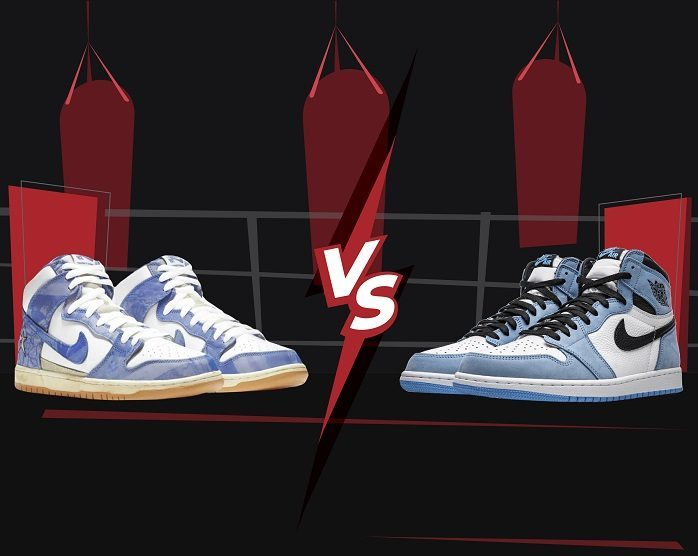 Dunk vs Jordan 1 - 2021