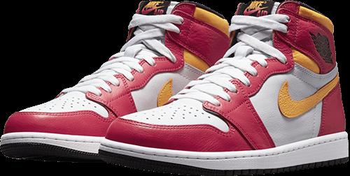 Jordan 1 Fusion Red Pair