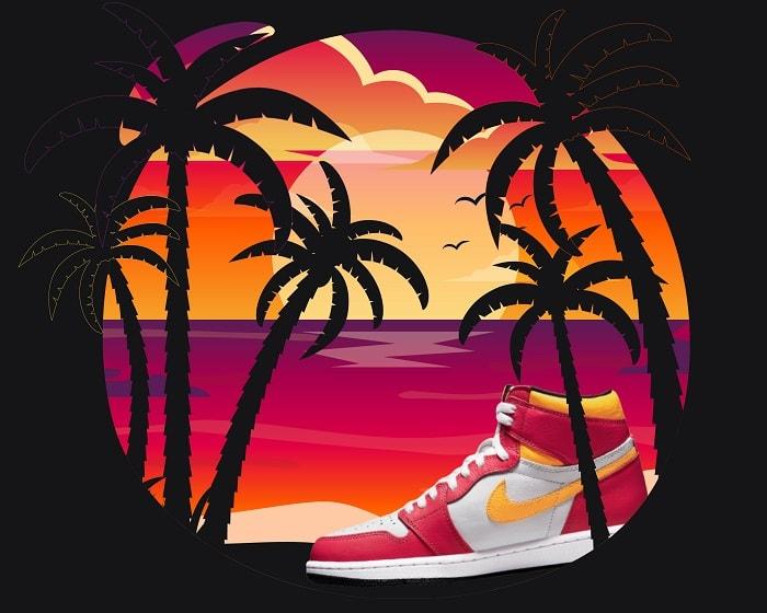 New Jordan 1 Fusion Red colorway