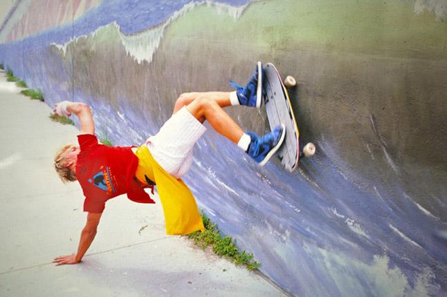 Skateboarding in jordan 1