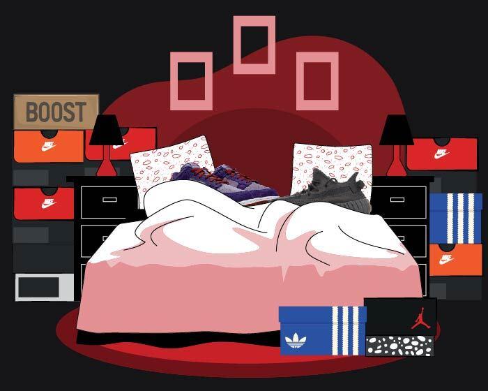 Sneaker storage - beginner
