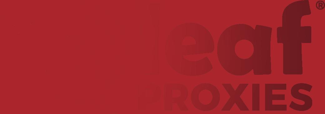 residential proxies - leaf