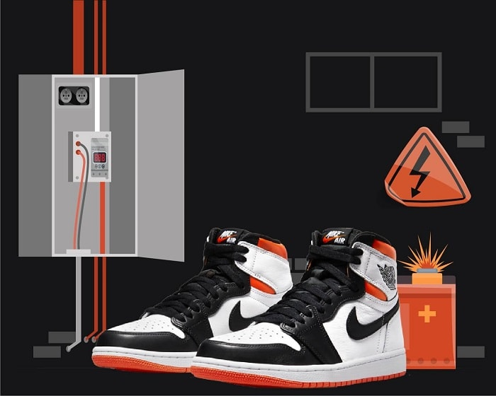 Electro Orange Jordan 1 2021