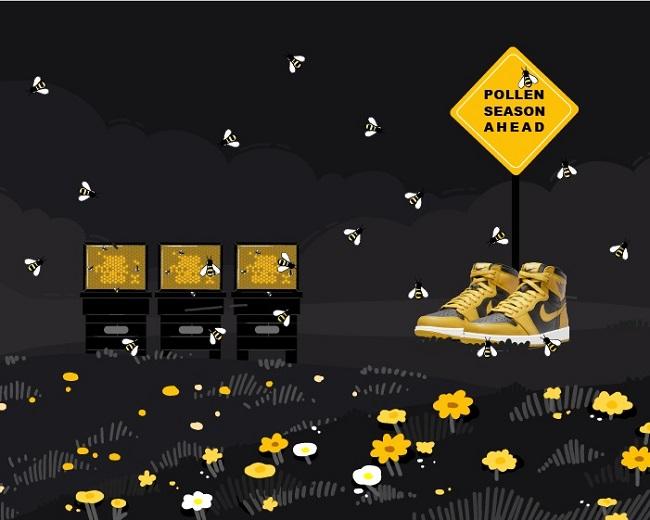 Jordan 1 Pollen 2021