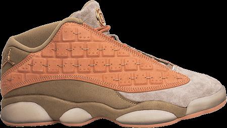 Jordan 13 CLOT Sepia Stone
