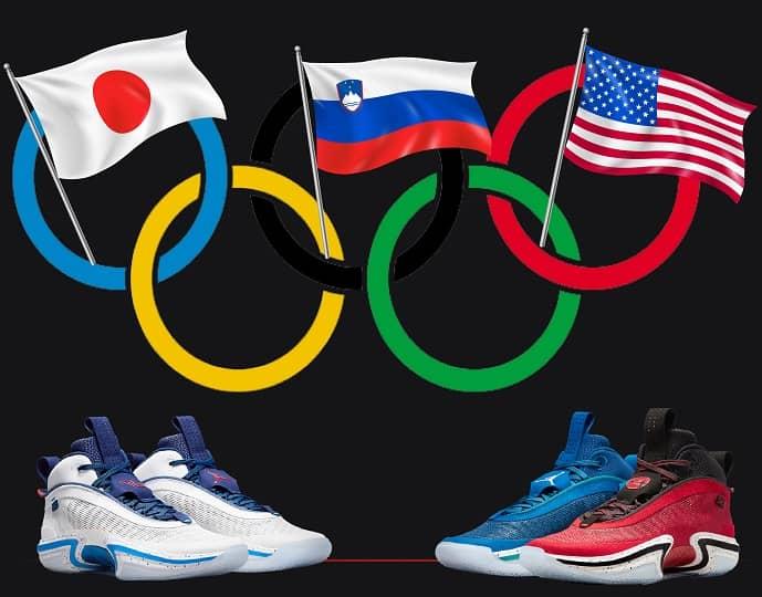 Jordan 36 Tokyo Olympics