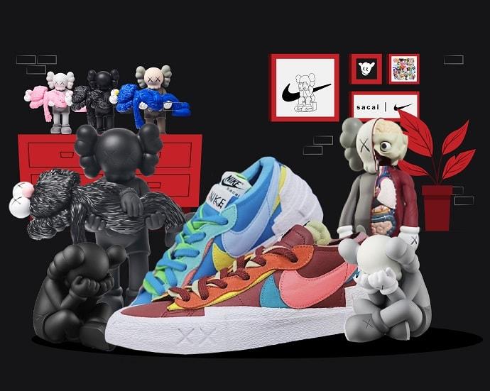 Nike Kaws Sacai Blazer 2021