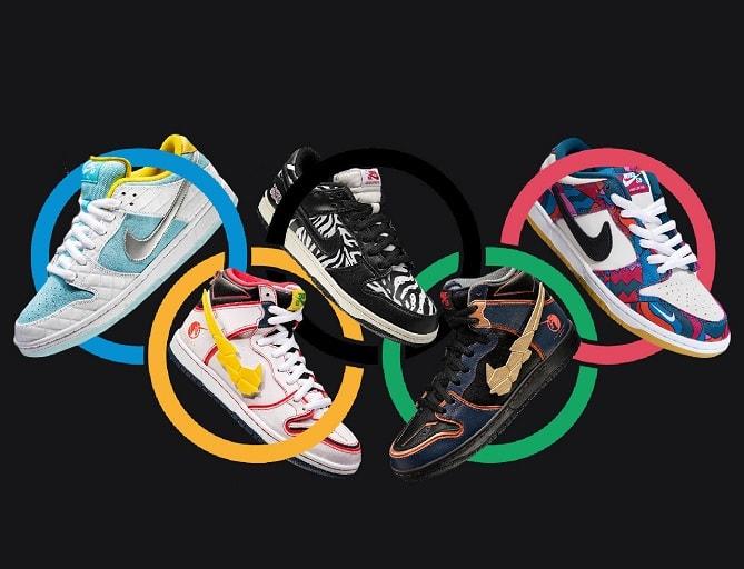 Nike Parra SB Dunk Tokyo Olympics