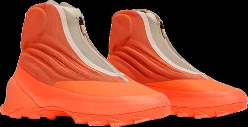 Orange Yeezy Boots 2021