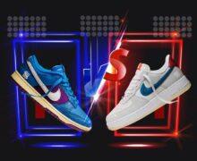 Undefeated Nike Dunk vs AF1