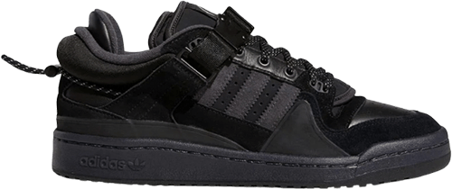 Bad Bunny Adidas Forum Triple Black