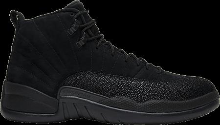 Black Jordan 12 OVO