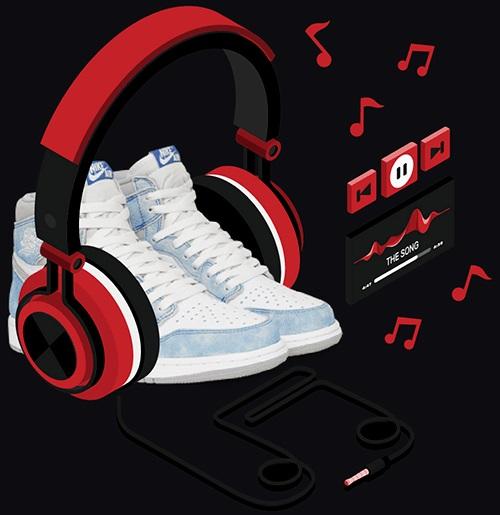 Music and Sneaker industries merge