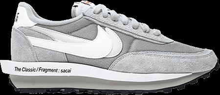 Nike Sacai Fragment LDWaffle grey