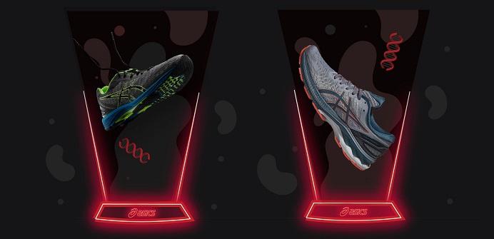 Asics sneaker tech